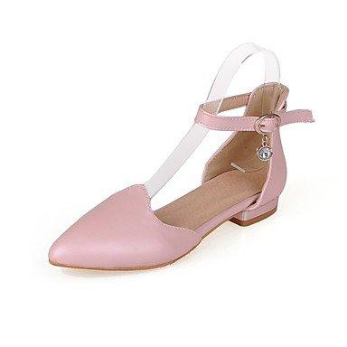 Zormey Frauen Schuhe Niedrigem Absatz/D'Orsay & Amp Zweiteilige/Schuhe Heels B¨¹ro & Amp Karriere / Kleid Schwarz/Rosa/Wei? US2.5 / EU32 / UK1 / CN31