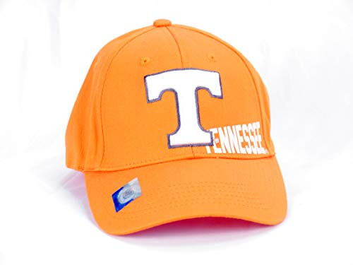 Captivating Headwear University Tennessee Volunteers Cap, Unisex, orange with Lettering