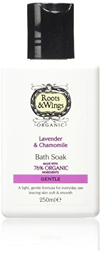 Roots and Wings Organic Gentle Lavender and Chamomile Bath Soak 250ml