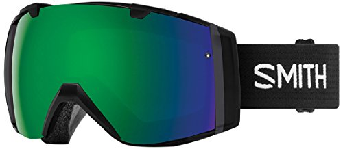 SMITH Erwachsene I/O Skibrille, Black, One size (Smith Erwachsenen Ski-helm)