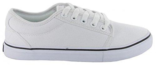 Adio Skateboard Schuhe- Sydney- White/White, Schuhgrösse:42.5