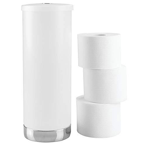 (InterDesign Aria Ersatzrollenhalter mit Deckel, Kunststoff, durchsichtig)