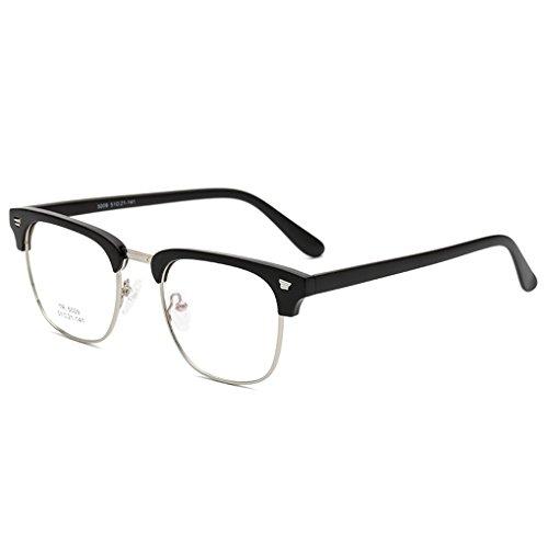 Idyandyans TR90 optische Rahmen Brille Männer Frauen Brillen Brille RX halb Rand