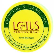 Lotus Pedicure & Manicure Cirtus Hand & Foot Masque 300g