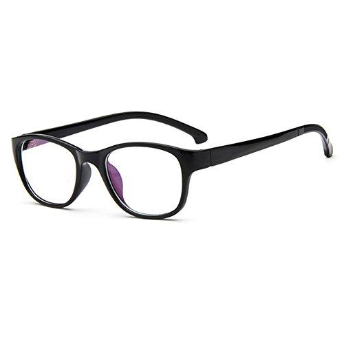 Junior Billig Kostüm - Juleya Kinder Gläser Rahmen - Kinder Brillen Clear Lens Retro Reading Eyewear für Mädchen Jungen 112210