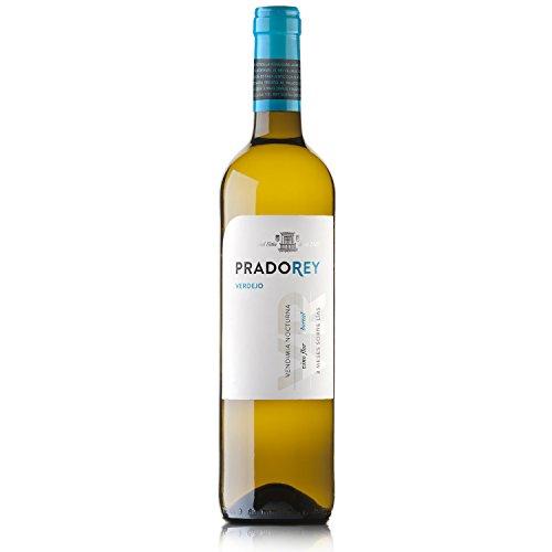 Pradorey Verdejo - Vino Blanco - Verdejo - Vino De La Tierra De Catilla Y León - Vendimia Nocturna - Elaboración Con Sistema Boreal - 1 Botella - 0,75 L