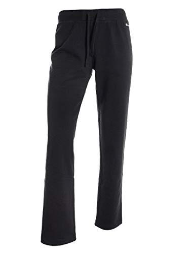 Champion Baumwoll-strumpfhose (Champion Damen Drawstring Pants Sport Leggings, Schwarz (NBK Kk001), W38/L39 (Herstellergröße: Medium))