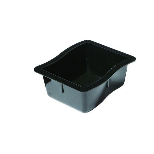 Carlisle CFS698603 - Casseruola modulare, capacità 4 Tazze, 16 x 15 x 7 cm, in policarbonato (PC), Colore Nero, Confezione da 6
