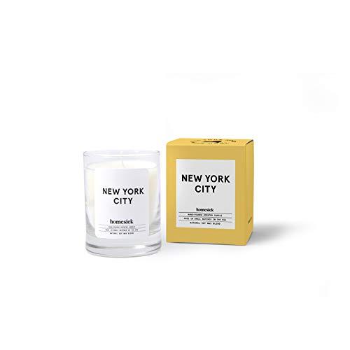 Homesick Mini-Duftkerze in New York City, 10 bis 12 Stunden Brenndauer, ca. 48 g
