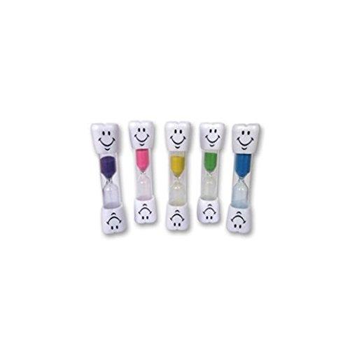 Reloj de Arena para Niños ~ Temporizador de 2 Minutos con 'Smiley' Cara Feliz para Cepillar Dientes (Verde)