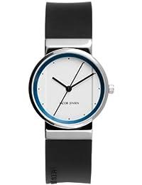 Jacob Jensen it's_amaz-reloj Jacob Jensen NEW Series Item NO, 760 analógico de cuarzo de caucho Jacob Jensen NEW Series Item NO, 760