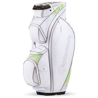 Ladies TaylorMade Golf 2017 Kalea Cart Trolley Bag 14-Way Divider White/Gray/Turquoise
