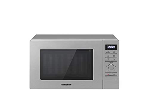 Panasonic NN-J19KSMEPG - Horno de microondas combinado con grill, 800 W, 20...