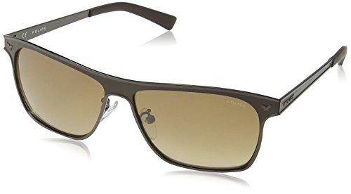 Police Men's S8948 History 1 rectangular Sunglasses