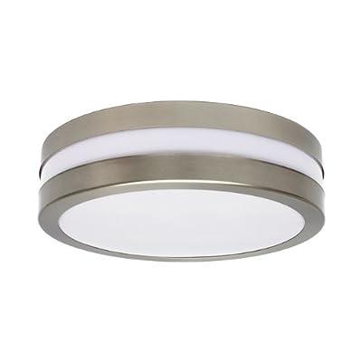 Wandleuchte Deckenleuchte SAVONA II rund IP44 LED E27 für bis zu 2x18 Watt; für Wohnraum, Bad, Flur, Wand, Decke; mit und ohne Leuchtmittel