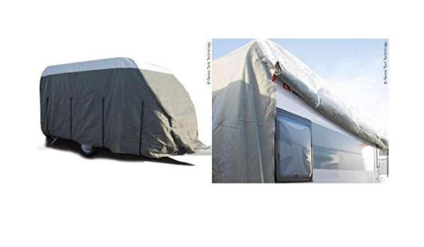 Reimo Tent Technology Wohnwagen Schutzhülle Premium Länge 630 670cm Für Wohnwagen Breite Bis 250cm Dachschutzplane 9329928527 Küche Haushalt