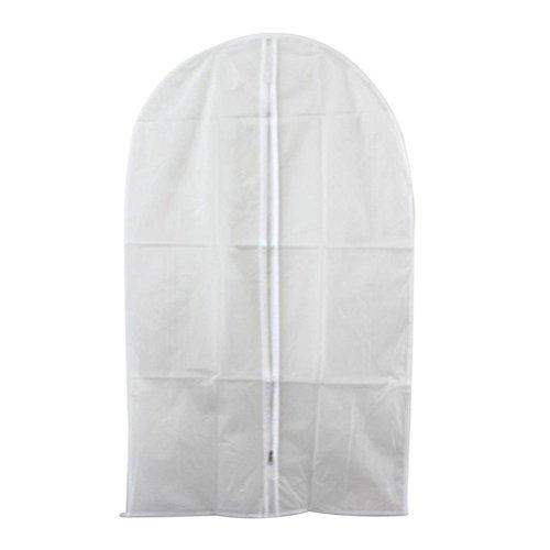 Pixnor traspirante indumento Suit Cover Borse antipolvere vestiti Bag Confezione da 5