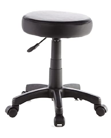 hjh OFFICE 685270 siège technique, tabouret de travail à roulettes