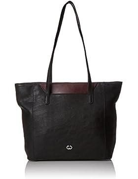 Gerry Weber Damen Retro Chic Shopper Lhz Schultertasche, Schwarz (Black), 13x29.5x42 cm