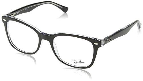 Ray-Ban Unisex-Erwachsene Brillengestell 0rx5285, Schwarz (Black), 53