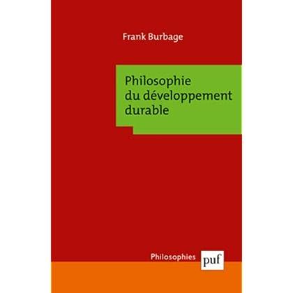 Philosophie du développement durable