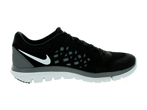 Nike - Flex 2015 Rn - , homme Negro / Blanco / Gris (Black / White-Cool Grey)