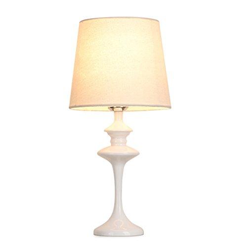 Ywyun Europäische warmes Licht LED-Lampe, moderne Beleuchtung Bügeleisen, Schlafzimmer Wohnzimmer Restaurants dekorative CFL, 46 * 22cm ( Color : White ) -