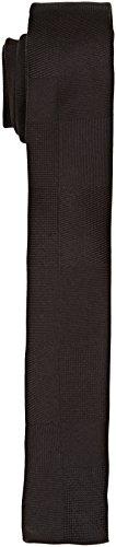 Calvin Klein Herren Krawatte Nicosia, Nero (Perfect Black), Einheitsgröße