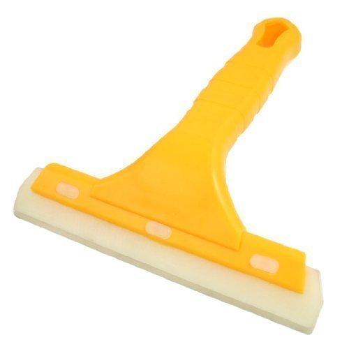 Antiscivolo, manico in plastica, colore: giallo-Lama per raschietto in