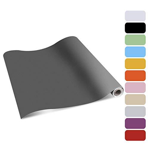 ZOEGATE Selbstklebende Folie Möbelfolie Klebefolie Möbelsticker Plotterfolie Aufkleber Küchenschränke PVC Küchenfolie Tapeten wasserfest Aufkleber für Schrank 61x500cm für Möbel Küche