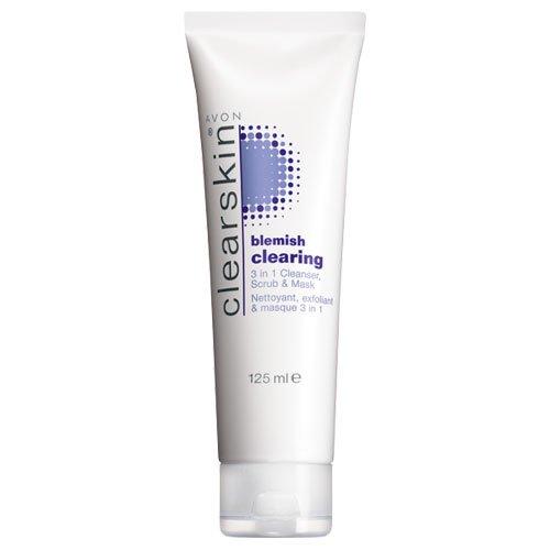 avon-clearskin-3-in-1-blemish-nettoyant-exfoliant-et-masque-125-ml
