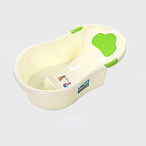 neonato vasca cuscino,Vasca da bagno, ampia fascia in vita con vasca per schienale, seduta e sdraiata @ green_78 * 48 * 27CM
