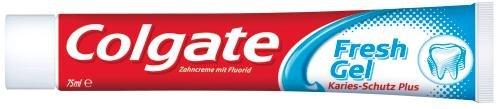 Colgate Zahncreme Fresh Gel Kariesschutz 75 ml , 3er Pack (3 x 75 ml)