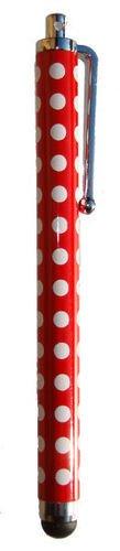 Super Best POLKA RED DOT SPOT Super Best Polka Dot stylet tactile pour iPad, iPhone 5, 5S, 5C, Smartphone, S4 I9499, Pour tous les iPads, iPhones, iPods, Samsung, Blackburry, et tous les téléphones intelligents et