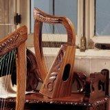 Design Toscano Keltische Tara-Harfe aus Rosenholz