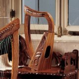 design-toscano-celtic-rosewood-tara-harp