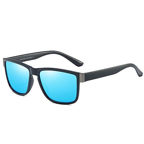 BJYG Sportbrillen Classic Retro Full Frame Retro Style Herren Polarisierte Sonnenbrillen Sport Outdoor UV400 Schutz Fahren Fahrrad Laufen Angeln Golf Freunds Selbstfahrende Entspannung Laufen, Re
