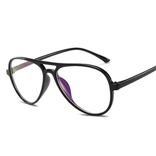 XCYQ Brillengestell Schauspiel Optische Gläser Rahmen Frauen Männer Brille Retro Klare Linse Brille Männlich Weiblich Mode Eyewear
