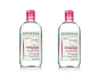 Preisvergleich Produktbild Bioderma Sensibio H2O micellare Lösung Cleanser 2x500ml