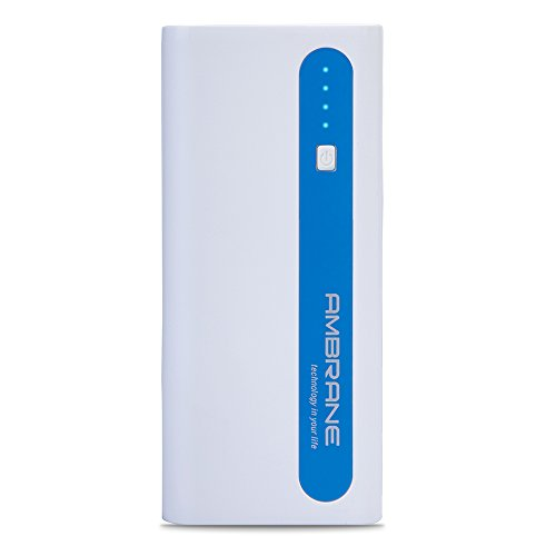 Ambrane P-1310 13000mAH Power Bank (White-Blue)