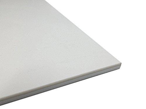 Preisvergleich Produktbild Kunststoffplatte ABS 2mm Weiß 300 x 200 mm