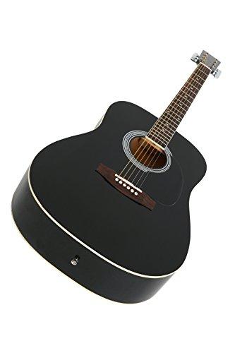 Navarra NV 31 Westerngitarre schwarz - 3