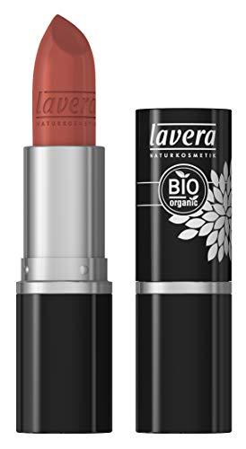 lavera Rossetto Beautiful Lips Colour Intense -Coral Flamingo 37- Lipstick ∙ Cura delicata ✔ Trucco naturale ✔ Bio ✔ 100% Cosmetici Naturali (4.5 g)