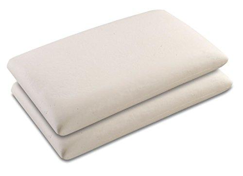 Baldiflex coppia di cuscini in memory foam modello for Cuscini amazon