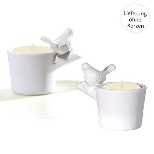 2er-Set Teelichthalter »Alle Vögel sind schon da«