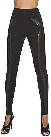 elegante Shape-Leggings * formend modellierend schlankmachend * Gr. S M L XL XXL Schlankmacher Leggins Damenhose (Ally Gr. M)