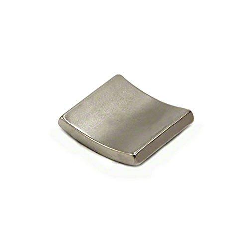 Magnet Expert® 37,5mm O.R. x 33,5mm I.R. x 90 degrés x 25mm N42 néodyme arc aimant, Nord, pack de 4