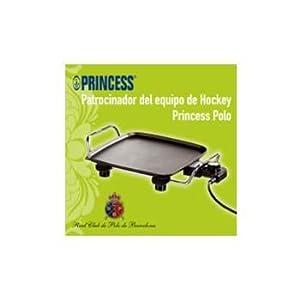 Princess - Plancha Cocina 102210, Table Cheff, 1900W, 26X26Cm, Termostato, Apto de Princess