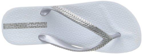 Ipanema Bella II, Damen Zehentrenner Weiß (23141/white/silver)