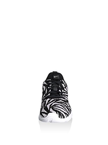 Nike Kaishi 2.0 Kjcrd Print, Scarpe da Corsa Donna, M Nero (Negro (Black / Black-Bleached Lilac))